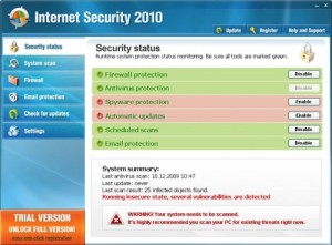 You suck, Internet Security 2010