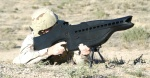The military testing a PHaSR weapon