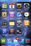 Home screen of jailbroken iphone