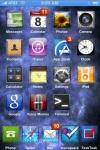 Home screen of jailbroken iphone