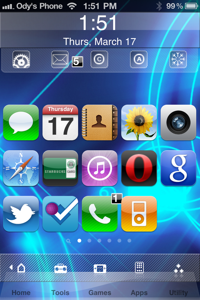 iphone home screen so you ve jailbroken your iphone now what as i 1313