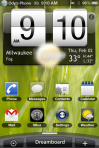 dreamboard with Android theme